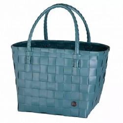 Paris Shopper Bag- Teal Blue