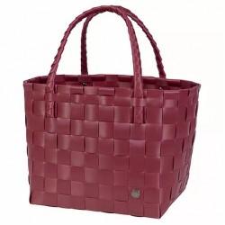 Paris Shopper Bag-Burgundy