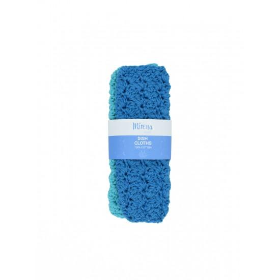 Reusable dishcloths-μπλε/γαλάζιο