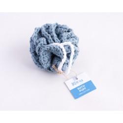 Reusable bath pouf-Γαλάζιο