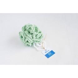 Reusable bath pouf-Πράσινο