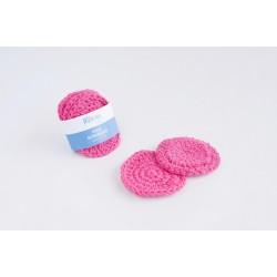 Reusable face scrubbies - Φούξια