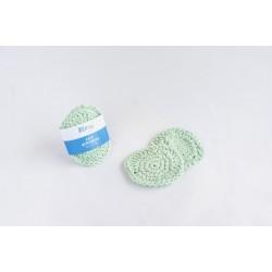 Reusable face scrubbies - Πράσινο
