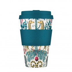 Ecoffee cup Emma J. Shipley Kruger Bamboo Cup 400ml