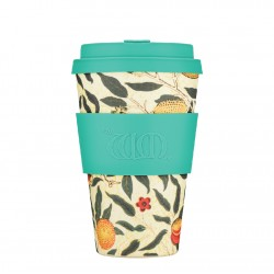 Ecoffee cup Pomme -William Morris Collection Bamboo Cup 400 ml