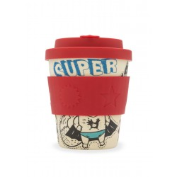 Ecoffee cup for kids - Superhero Bamboo Cup 250ml