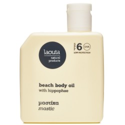 Laouta Natural Products Beach Body Hyppophae & Mastic SPF6 100ml