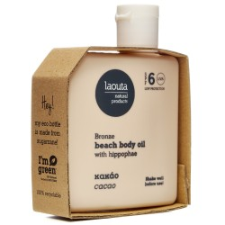 Laouta Natural Products Beach Body Hyppophae & Cacao SPF6 100ml