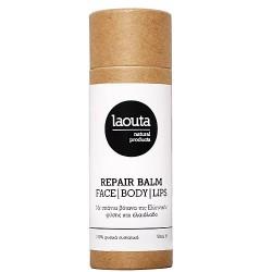 Laouta Natural Products Repair Balm Βάλσαμο Ενυδάτωσης και θρέψης για πρόσωπο σώμα χείλη 50ml