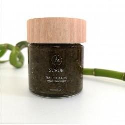 LN Handmade Scrub Tea Tree and Lime - Hands, Face, Body (100ml-150gr)