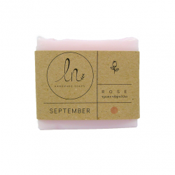"""LN Handmade Soap September """"Rose"""" 110gr"""