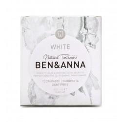 Φυσική οδοντόκρεμα λευκαντική Ben & Anna White 100ml