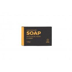 Χειροποίητο σαπούνι με βιολογική αλόη και μέλι της Anthos Aloe Vera