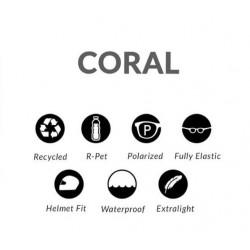 "Parafina Eco Silicone Collection ""Coral tartaruga ash grey"""
